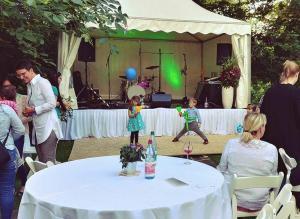 Partyband Hochzeit open air mit Hochzeitsband